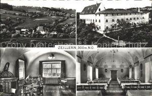 Zeillern Erholungsheim Speiseraum Aufenthaltsraum Kat. Zeillern
