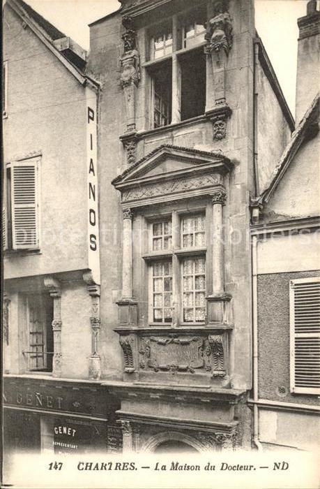 Chartres Eure et Loir Maison du Docteur Kat. Chartres