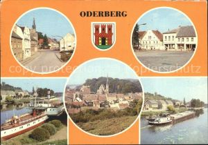 Oderberg Mark Angermuenderstrasse Blick vom Albrechtberg  Kat. Oderberg Mark