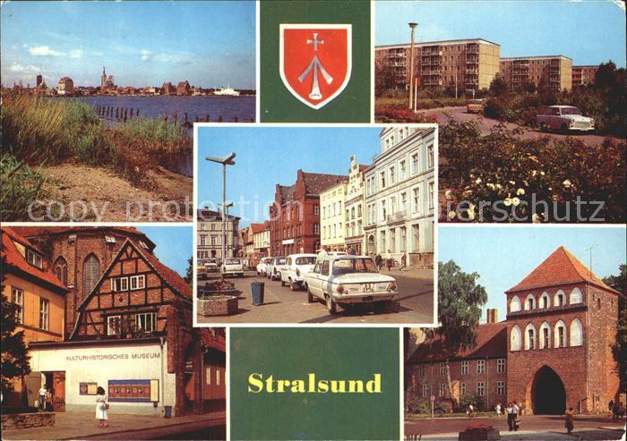 Stralsund Mecklenburg Vorpommern Kulturhistorisches Museum Leninplatz Kniepertor Kat. Stralsund