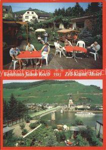 Zell Mosel Weinhaus Jakob Koch Kat. Zell (Mosel)