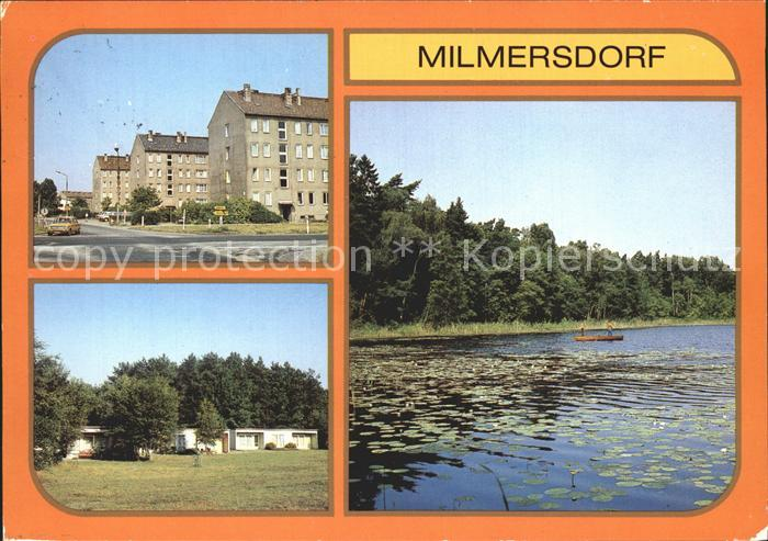 Milmersdorf Uckermark Neubauten Betonstr OT Ahrensdorf Leuna Ferienheim Am Temnitzer See / Milmersdorf /Uckermark LKR