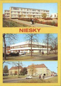 Niesky Herbert Balzer Oberschule Betriebsgaststaette des MLK und HOG Pizza Zinzendorfplatz Kat. Niesky