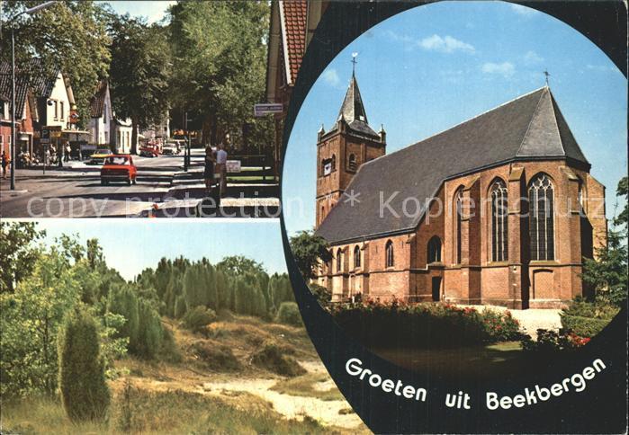 Beekbergen Strassenpartie Park Kirche Kat. Apeldoorn