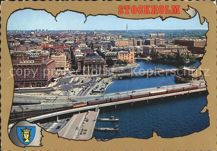 Stockholm Utsikt fran Stadshustornet Kat. Stockholm