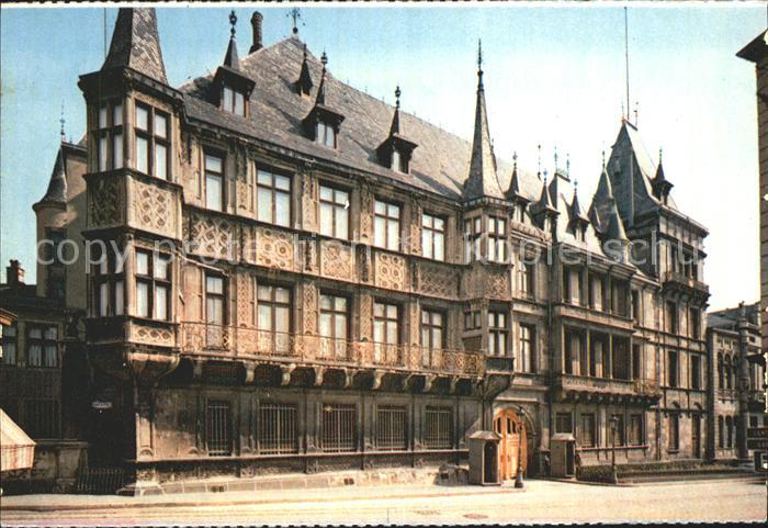 Luxembourg Luxemburg Palais Grand Ducal Kat. Luxembourg