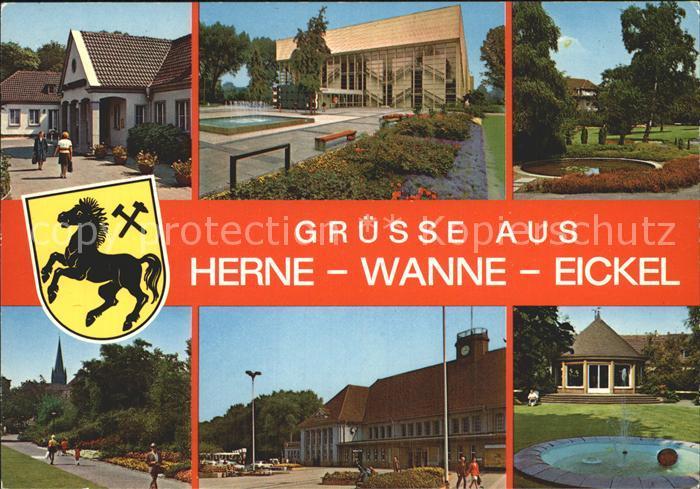 Herne Westfalen Wanne Eickel Kat. Herne