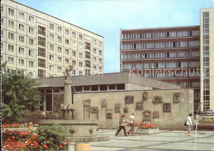 Magdeburg Eulenspiegelbrunnen am Alten Markt Kat. Magdeburg