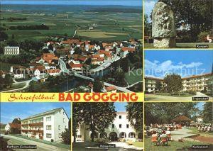 Goegging Bad Schwefelbad Kurheim Kurkonzert Trajansbad Kat. Neustadt a.d.Donau