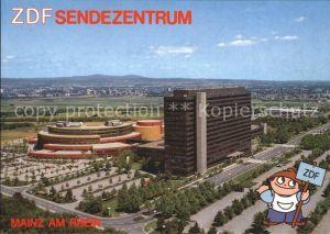 Mainz Rhein ZDF Sendezentrum Mainzer Lerchenberg