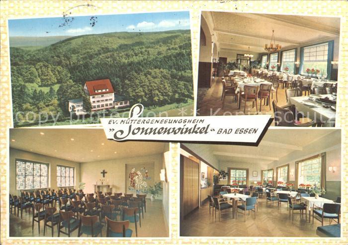 Essen Bad Evangelisches Muettergenesungswerk Sonnenwinkel Kat. Bad Essen
