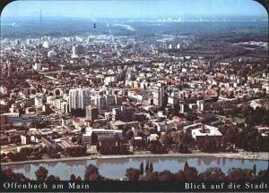 Offenbach Main Stadtansicht Main Kat. Offenbach am Main