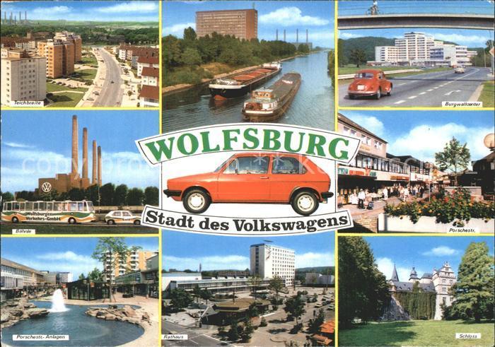Wolfsburg Volkswagen Golf Ansichten Kat. Wolfsburg
