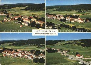 Les Verrieres Ortsansichten Grenze Frankreich Schweiz Kat. Les Verrieres