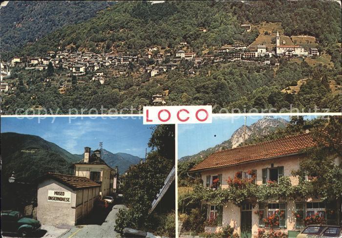 Loco Locarno Valle Onsernoner Kat. Loco