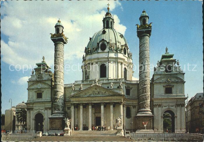 Wien Karlskirche Kat. Wien