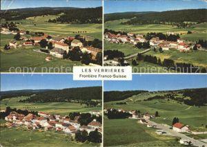 Les Verrieres Grenzen Frankreich Schweiz Kat. Les Verrieres