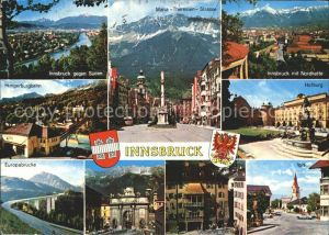 Innsbruck Europabruecke Hofburg Igis Kat. Innsbruck