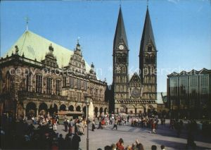 Bremen Rathaus Dom Parlament  Kat. Bremen