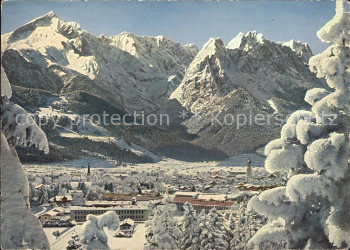 Garmisch Partenkirchen Zugspitzgruppe Kat. Garmisch Partenkirchen