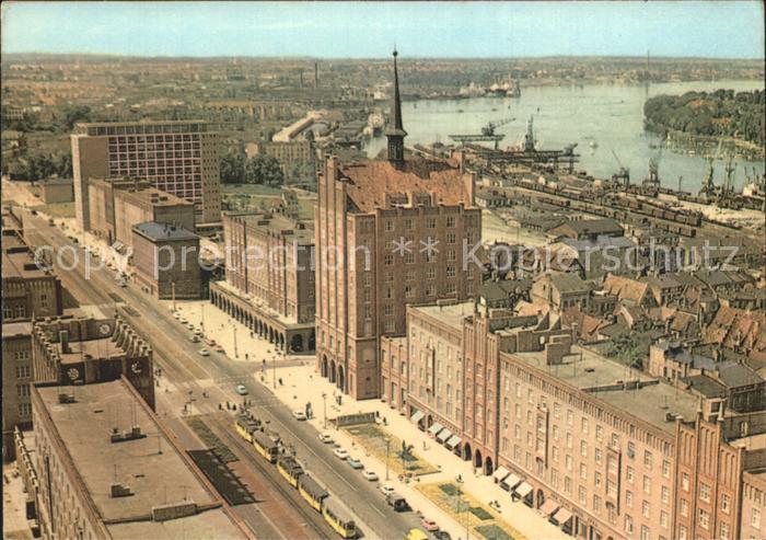 Rostock Mecklenburg Vorpommern Lange Stra?e Kat. Rostock