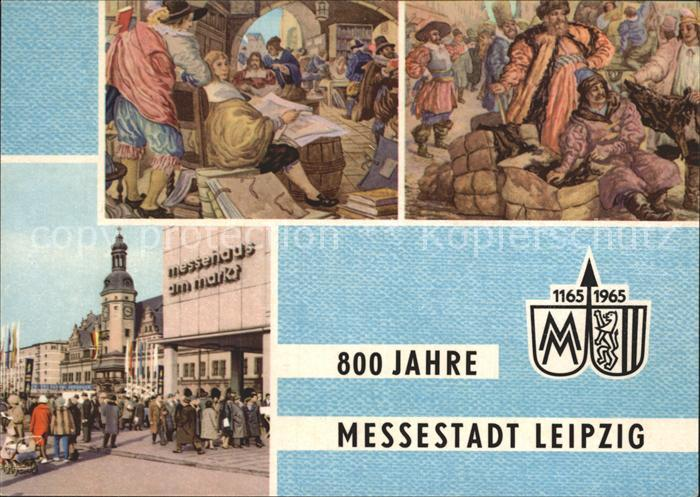 Leipzig Buchmesse Katalog Messe Russische Kaufleute Messehaus Markt  Kat. Leipzig