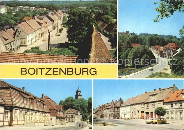 Boitzenburg Teilansichten  Kat. Boitzenburger Land