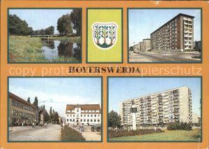 Hoyerswerda Elsterbruecke Rathaus Kat. Hoyerswerda