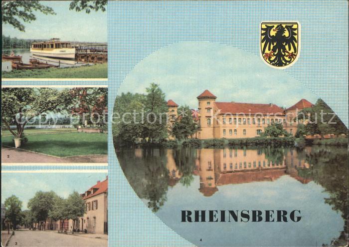 Rheinsberg See Sanatorium Helmut Lehmann Kat. Rheinsberg