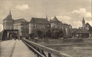 Torgau Schloss Hartenfels Elbe Kat. Torgau