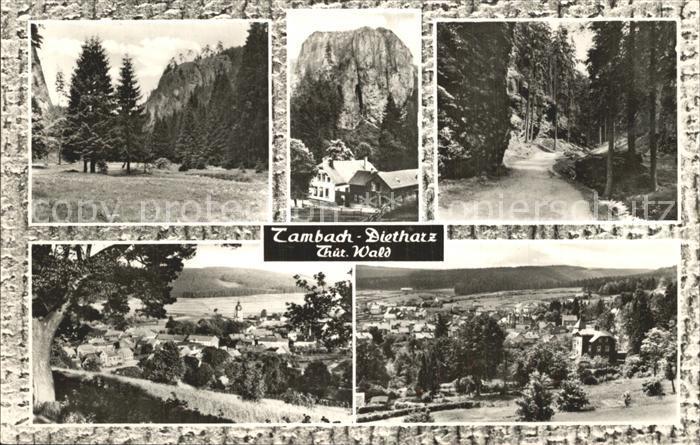 Tambach Dietharz Thueringer Wald Ansichten Kat. Tambach Dietharz