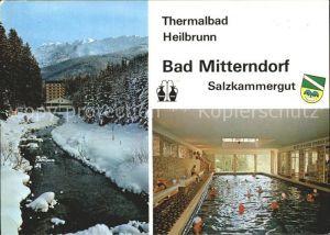 Mitterndorf Bad Thermalbad Heilbrunn Roemerquelle Moor Kat. Bad Mitterndorf Salzkammergut