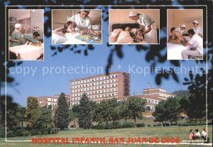 Barcelona Cataluna Hospital Infantil San Juan de Dios Kat. Barcelona