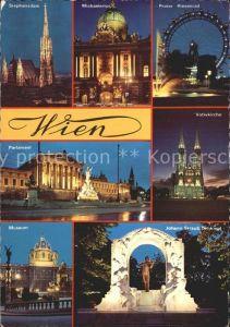 Wien Prater Dom Parlament Museum Kat. Wien
