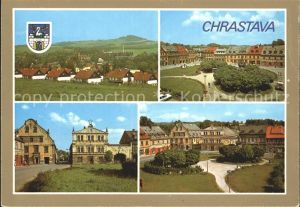 Chrastava Ansichten Kat. Kratzau