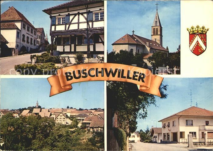 Buschwiller Rue de Wentzwiller Rue des Vosges Kat. Buschwiller