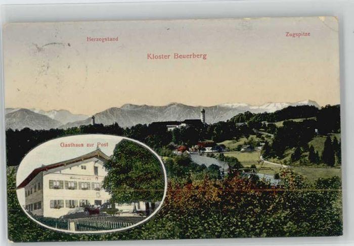 Beuerberg Wolfratshausen Gasthaus Post Kloster X 1911 Eurasburg Bad Toelz Wolfratshausen Lkr Nr Wd76351 Oldthing Ansichtskarten Bayern