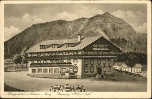 Berwang Tirol Gasthof Krug / Berwang /Ausserfern
