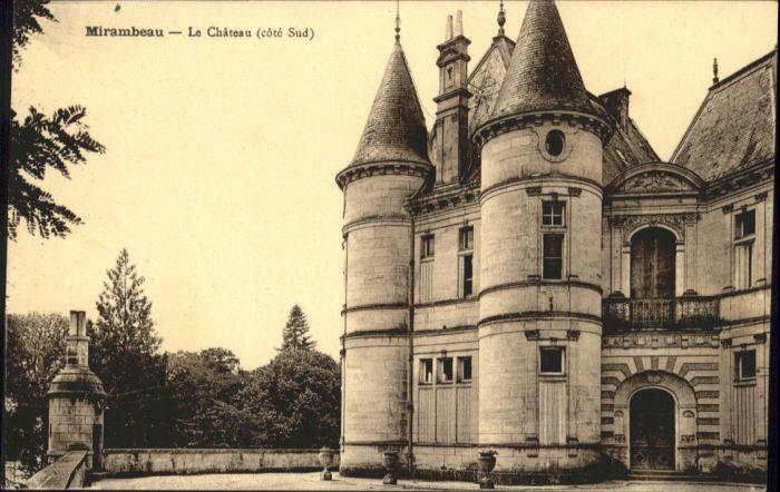 Mirambeau Charente-Maritime Mirambeau Chateau * / Mirambeau /Arrond. de Jonzac