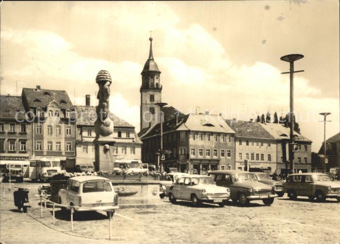 Bischofswerda Markt Kat. Bischofswerda