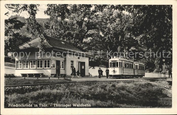 Friedrichroda Thueringer Waldbahn Kat. Friedrichroda