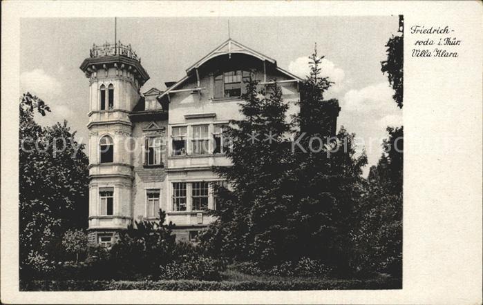 Friedrichroda Villa Klara Kat. Friedrichroda