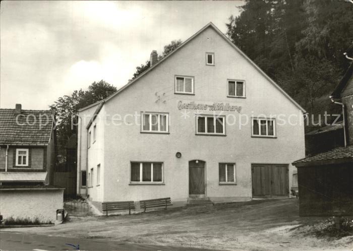 Hinternah Gasthaus zum Muehlberg Kat. Nahetal Waldau