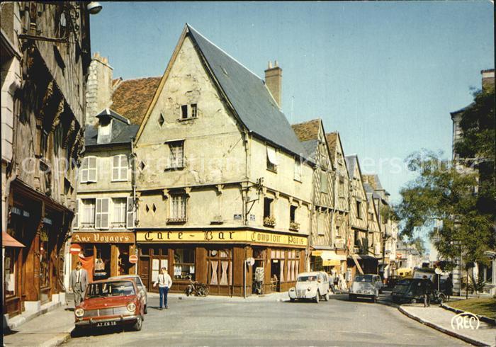 Bourges Maisons anciennes Place Gordaine Kat. Bourges