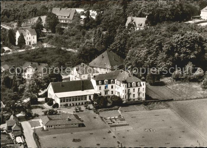 Bad Rothenfelde Kursanatorium Nollmann Fliegeraufnahme Kat. Bad Rothenfelde