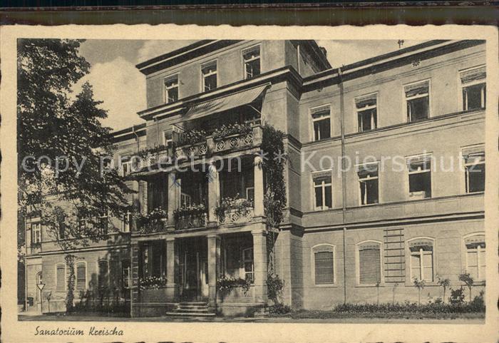 Kreischa Sanatorium Kat. Kreischa Dresden