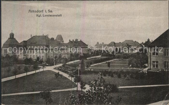 Arnsdorf Dresden Kgl Landesanstalt Kat. Arnsdorf