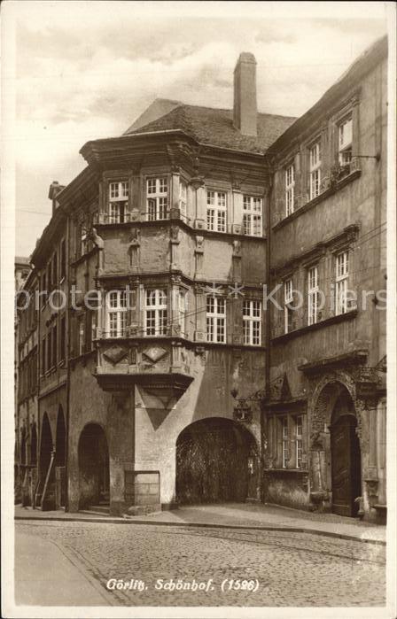 Goerlitz Sachsen Schoenhof Kat. Goerlitz