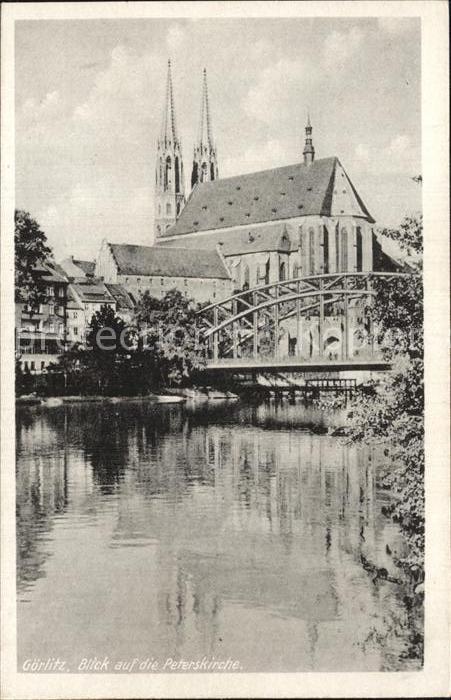 Goerlitz Sachsen Peterskirche Kat. Goerlitz