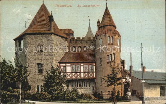 Magdeburg Sankt Lucasklause Kat. Magdeburg